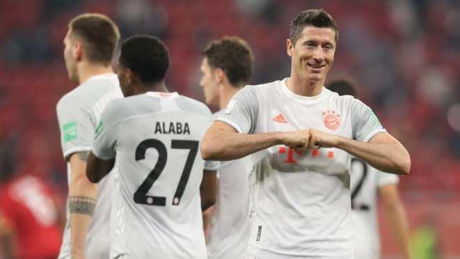 Mundial de Clubes: con un doblete de Lewandowski, Bayern Munich ganó y se metió en la final