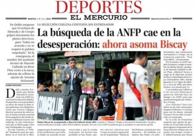 Atento, River: Matías Biscay suena para dirigir a la Selección de Chile