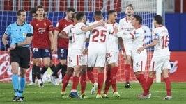 La Liga: Sevilla beat Osasuna