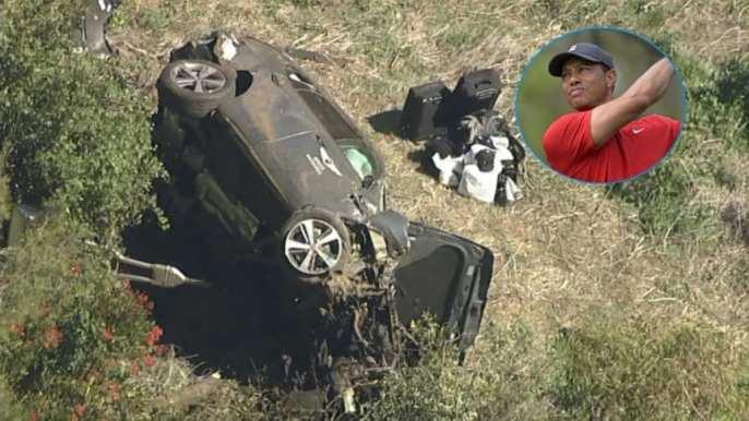 Grave accidente de Tiger Woods: últimas noticias, minuto a minuto - TyC Sports
