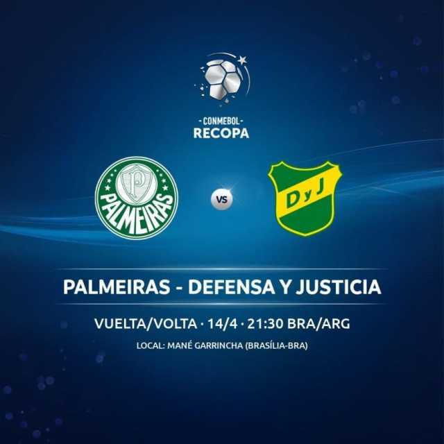 Atento, Defensa: la Recopa Sudamericana ante Palmeiras tiene fecha confirmada y un cambio de sede