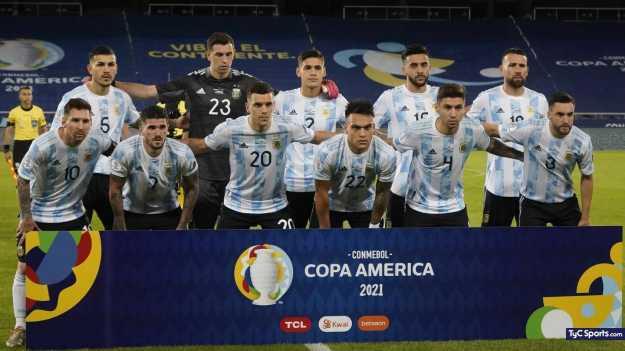 Copa América: los puntajes de la Selección Argentina en el empate contra  Chile - TyC Sports