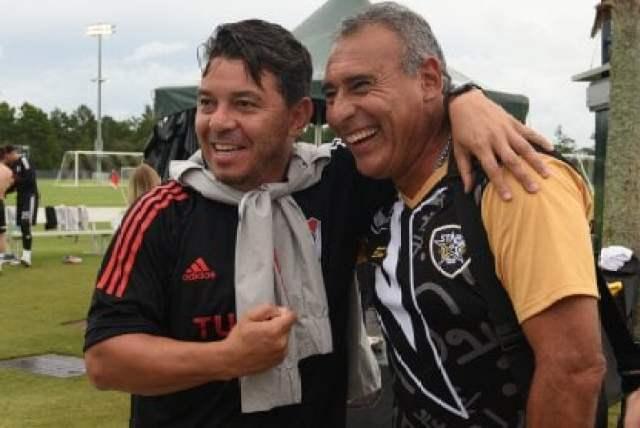 Gallardo y Villarreal amistoso