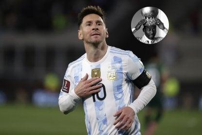 Messi Pelé