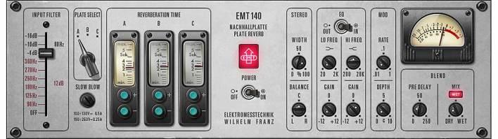 EMT® 140 Classic Plate Reverberator | UAD Audio Plugins | Universal Audio