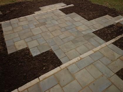 Bluestone patio installed