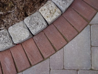Concrete paver detail