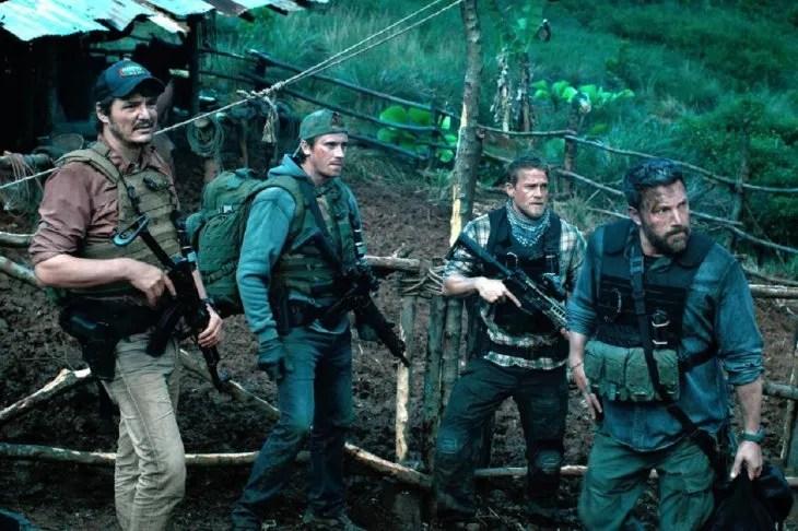 El filme Triple Frontera está protagonizada por Ben Affleck