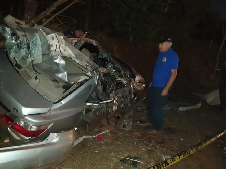 El accidente involucra a seis menores de edad