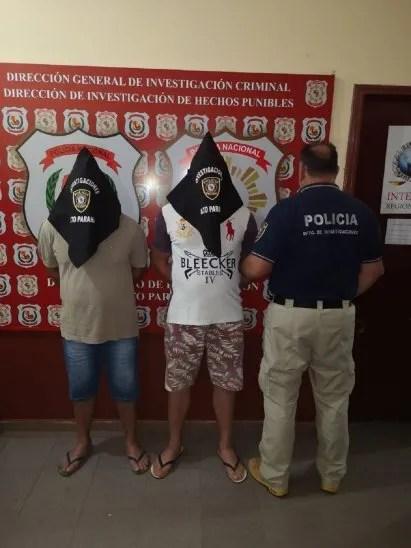 Los detenidos son de nacionalidad paraguaya.
