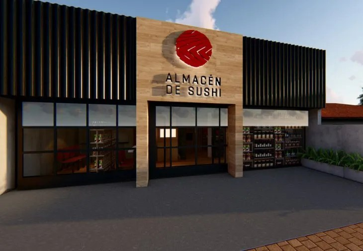 <p>El nuevo local de Almacén de Sushi se ubicará en el corazón de Villa Morra.</p>