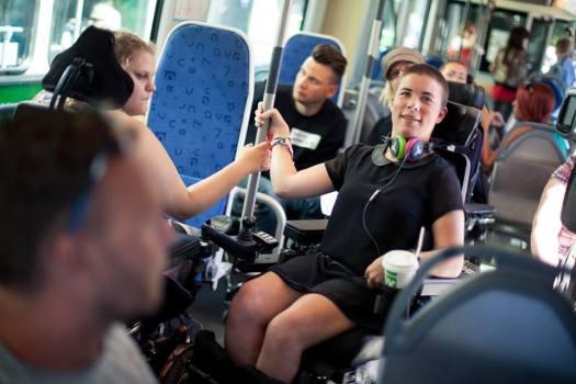 Göteborgsklubben gör aktioner för ett tillgängligare samhälle