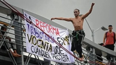 Colombia vive una crisis política y social que se acrecentó por la violencia policial