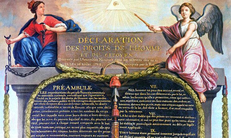 Risultati immagini per dichiarazione dei diritti dell'uomo e del cittadino 1789