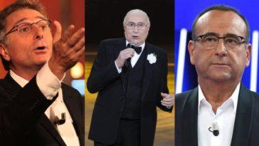 Pippo Baudo attacca Carlo Conti e Bonolis: «La tv di oggi è fatta solo di fotocopie»
