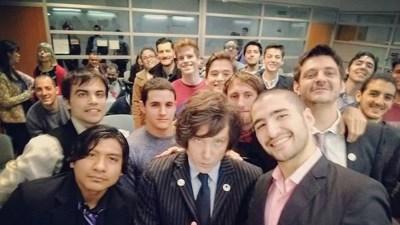 Javier Milei, ahora candidato de moda en la Ciudad de Buenos Aires 2021.