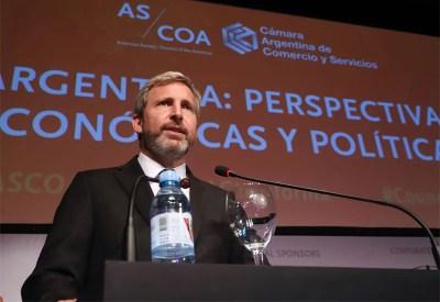 Rogelio Frigerio. Alberto Fernández aludió de forma muy dura contra el exministro macrista, hoy precandidato.