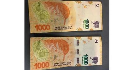 Los billetes de $1.000 con errores, ¿el nuevo objetivo de los coleccionistas?