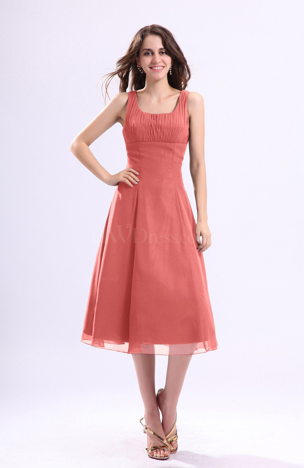 Coral Dress For Wedding Guest 6