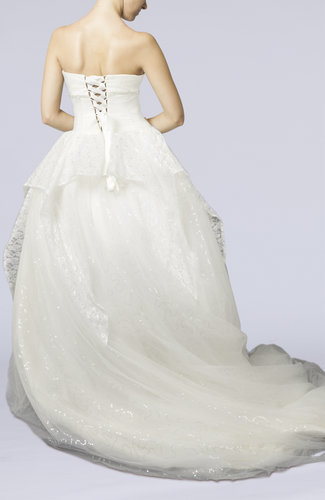 Cinderella Church Ball Gown Sweetheart Chapel Train