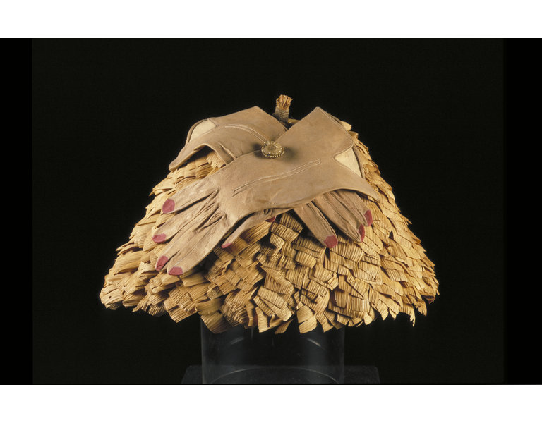 Glove Hat      Object:      Hat with gloves     Place of origin:      Paris, France (gloves, made)     Date:      1936 (made)