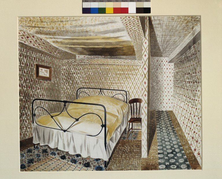 A Farmhouse Bedroom Ravilious Eric VampA Search The