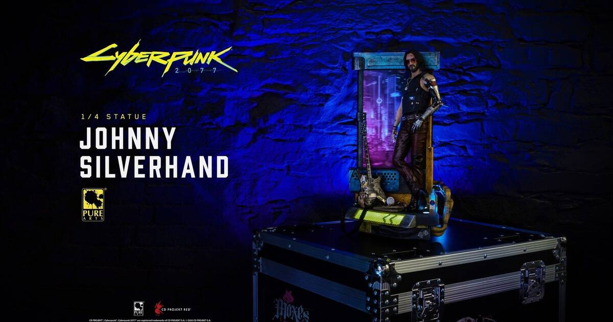 Cyberpunk 2077's Johnny Silverhand becomes a 0 figure