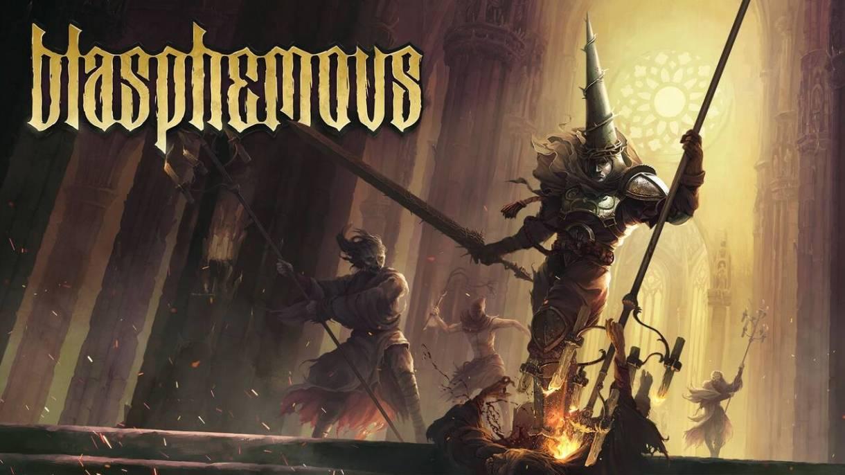 """Resultado de imagen para videojuego español """"Blasphemous"""""""