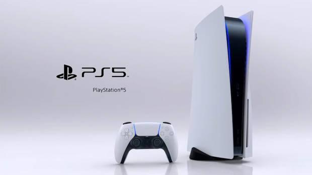 PS5 con lector de discos.