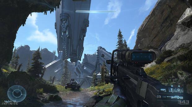 Captura de Halo Infinite en PC.