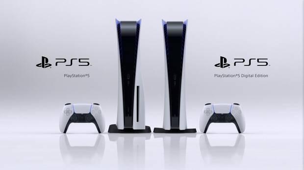 PS5 en sus dos modelos disponibles.