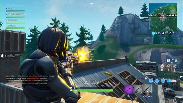 Fortnite Battle Royale - Desafíos semana 8, Temporada 9: inflige daño a tus oponentes con fusiles de asalto
