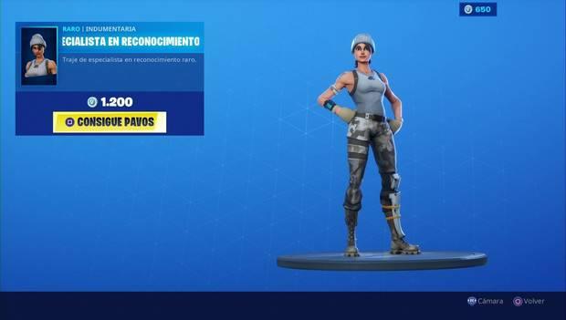 Fortnite - Skins: Especialista en reconocimiento
