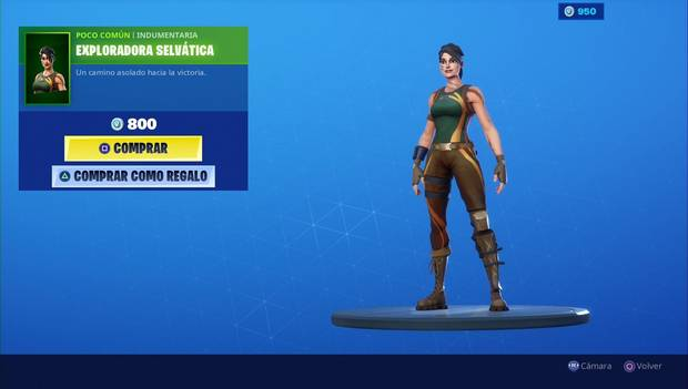 Fortnite - Personajes: Exploradora selvática