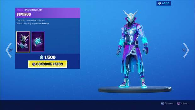 Fortnite - Skins: Luminos