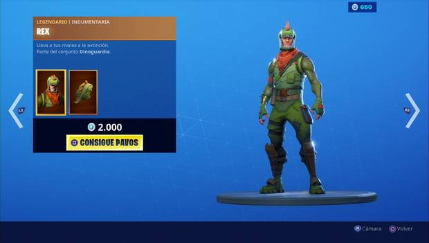 Fortnite - Skins: REX