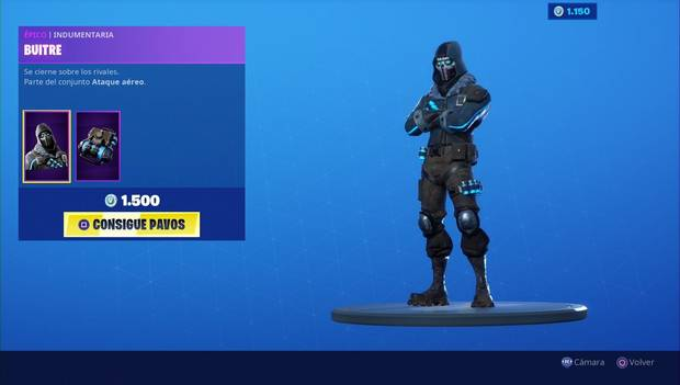Fortnite - Skins: Buitre