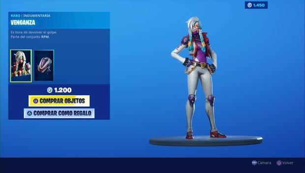 Fortnite - Personajes: Venganza