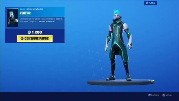 Fortnite - Skins: Vector