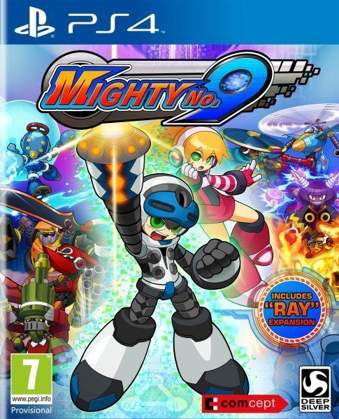 Mighty No 9 Videojuego PS4 Wii U PC Xbox One Xbox