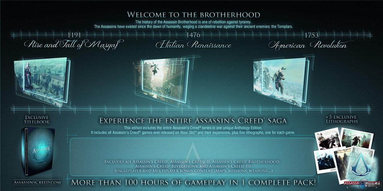 Amazon recoge Assassin's Creed Anthology
