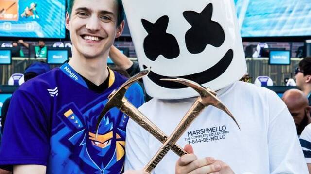 E3 2018 Ninja Y Marshmello Ganan El Fortnite Pro AM Vandal Sports
