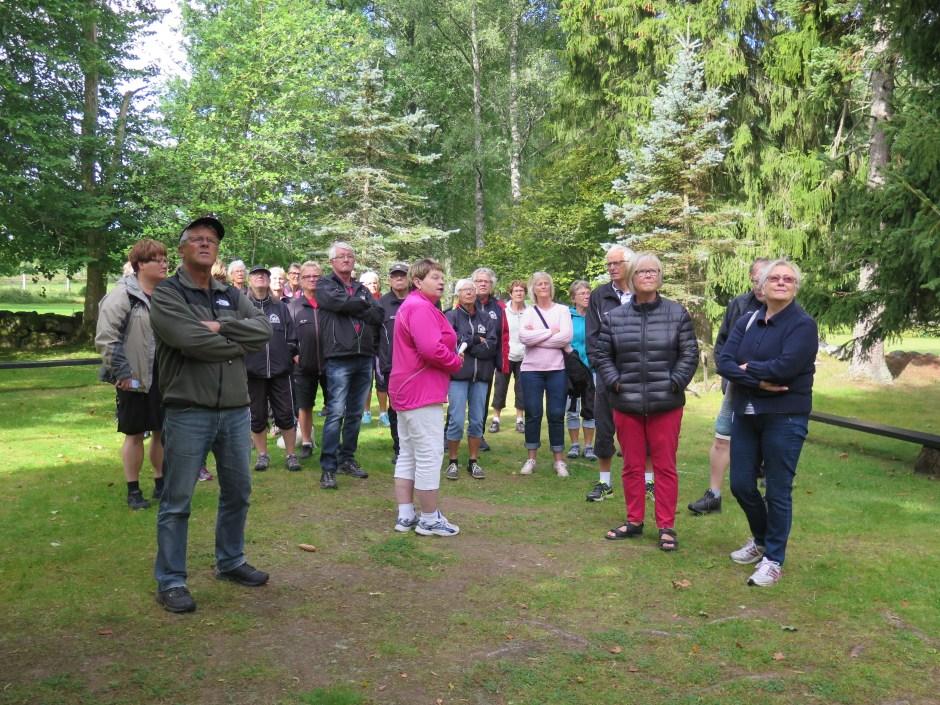 Medlemsvandringen vid  Alphems Arboretum