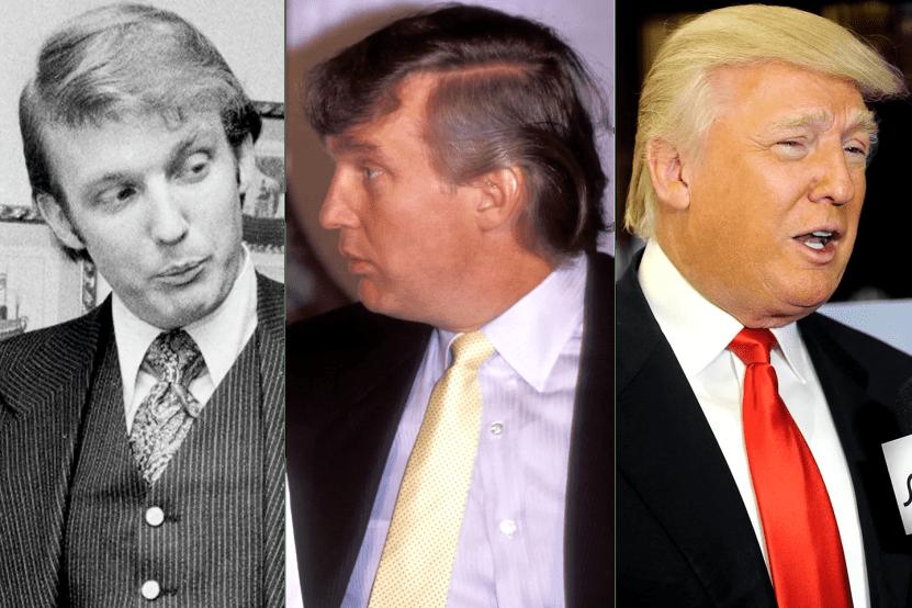 「trump hair history」的圖片搜尋結果