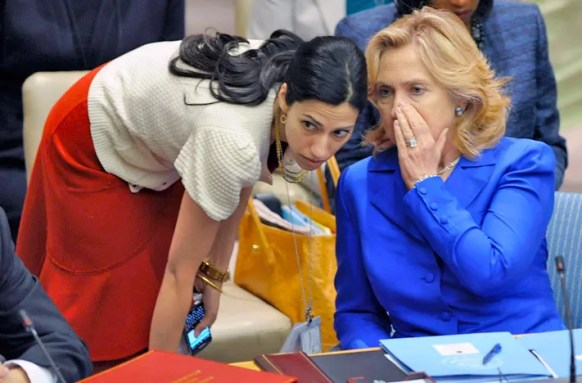 Image result for Donald Goes After Huma Abedin, Requests 4-Letter Word From DOJ