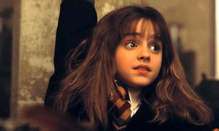 what s emma watson s reaction when she watches the first harry potter movie vanity fair