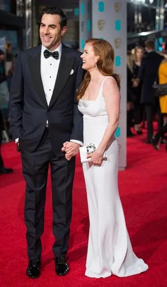 Sacha Baron Cohen and Isla Fisher