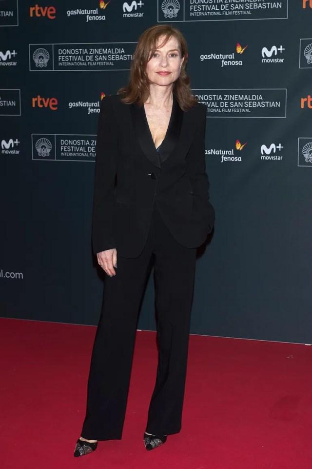 At the San Sebastian International Film Festival (September 19, 2016)