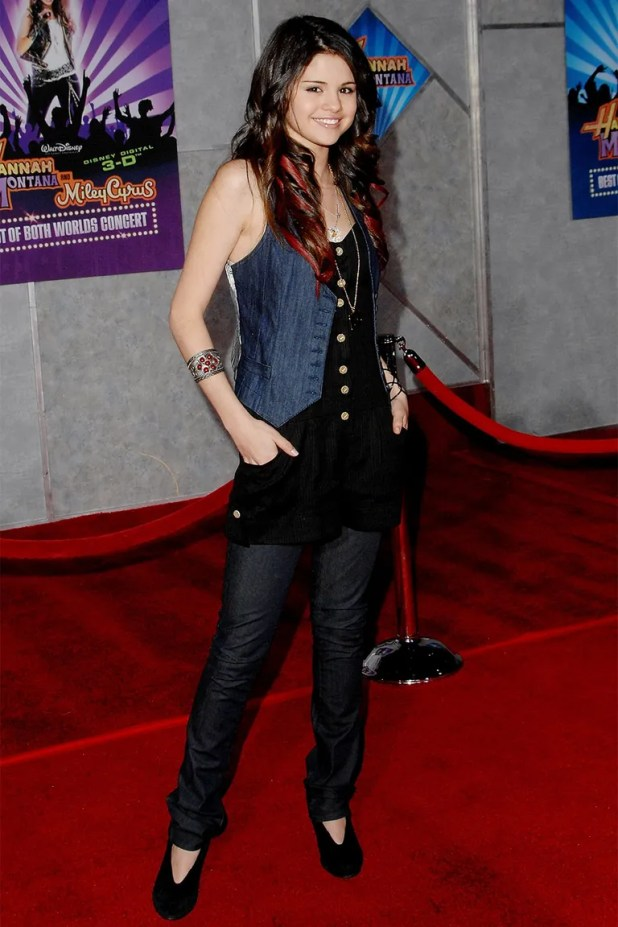 At the premiere of <em>Hannah Montana &amp; Miley Cyrus: Best of Both Worlds Concert 3D</em> (January 2008)