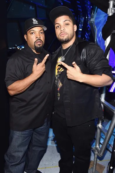 Ice Cube and OShea Jackson Jr.